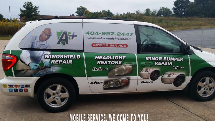 Windshield repair atlanta mobile - A Plus
