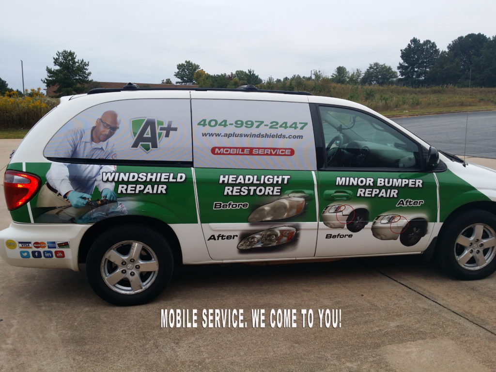 Windshield repair atlanta mobile - A Plus
