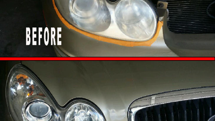 Hyundai headlights - Professional headlight restoration service